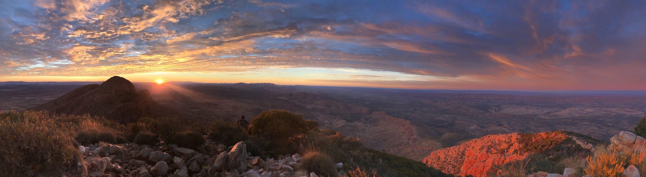 Trekking the Larapinta Trail, Australia