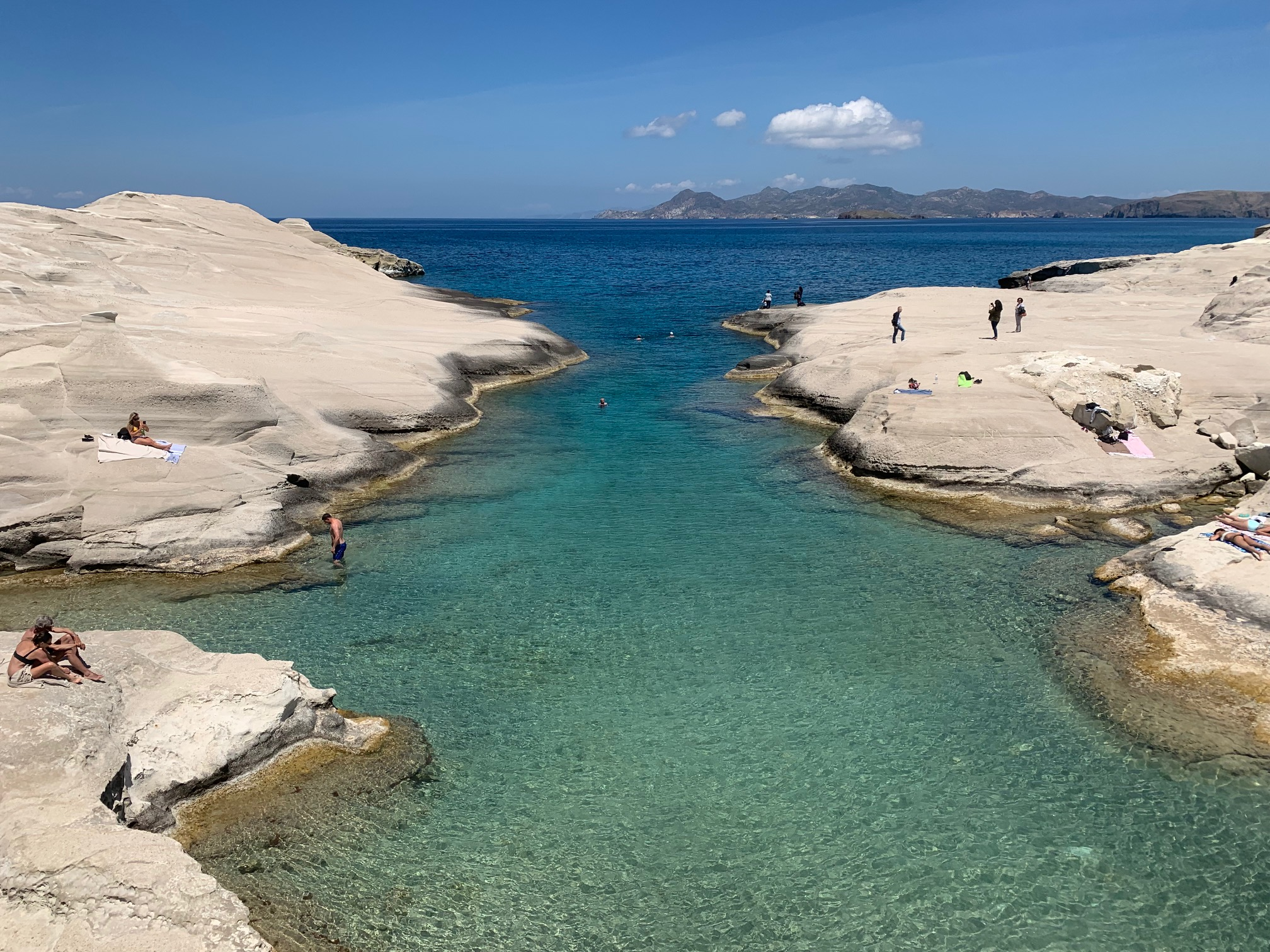 The thrills and spills of Milos, Greece