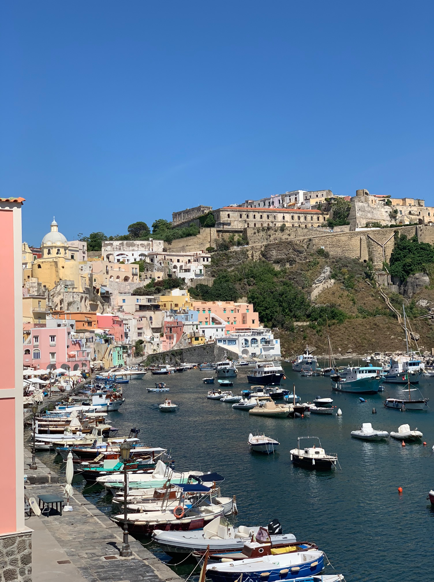 Procida, the tiny island off the coast of Naples, Italy