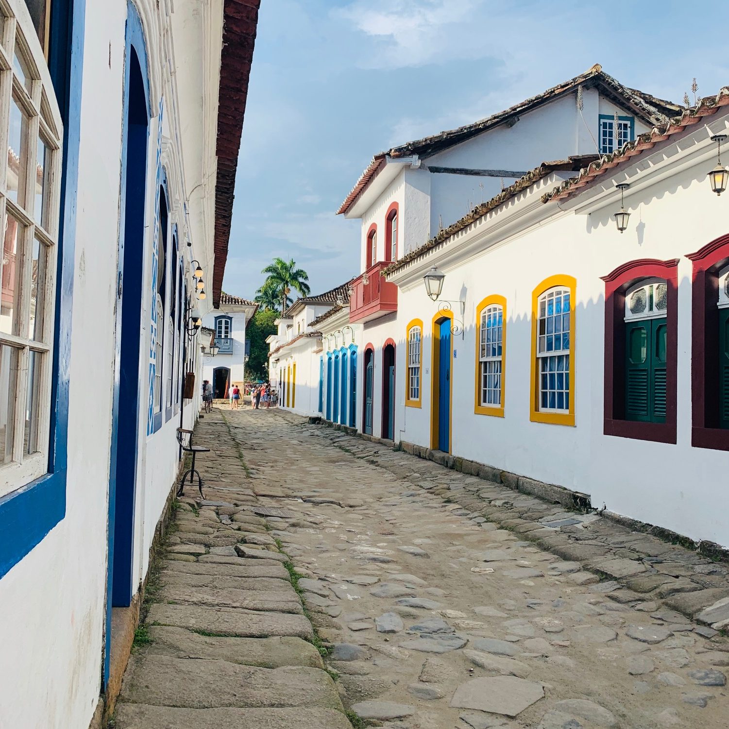 I lost my brand new earrings in Paraty, Brazil.