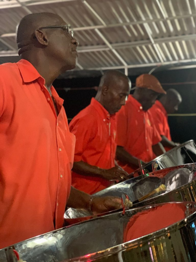 steel pan music, Barbados