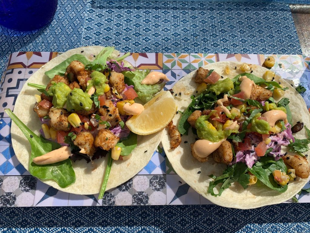 Fish Tacos, Barbados