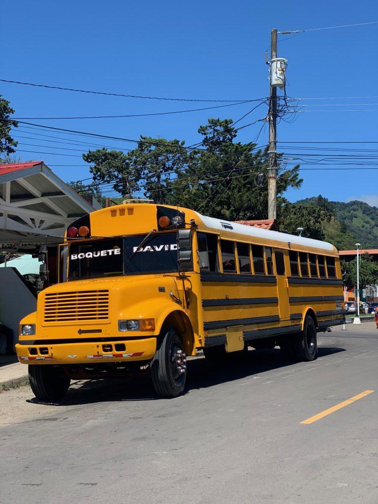 boquete bus