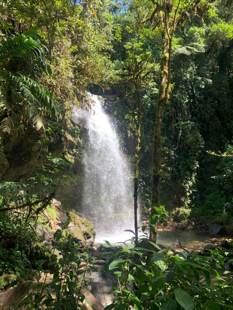 boquete waterfall