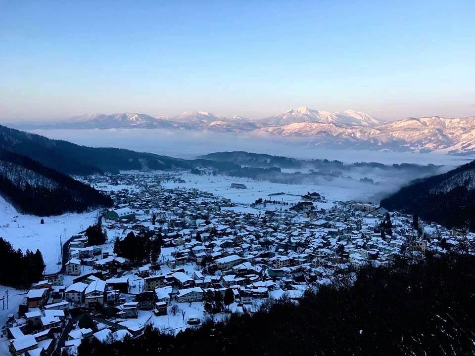 Skiing in Nozawa Onsen, Japan