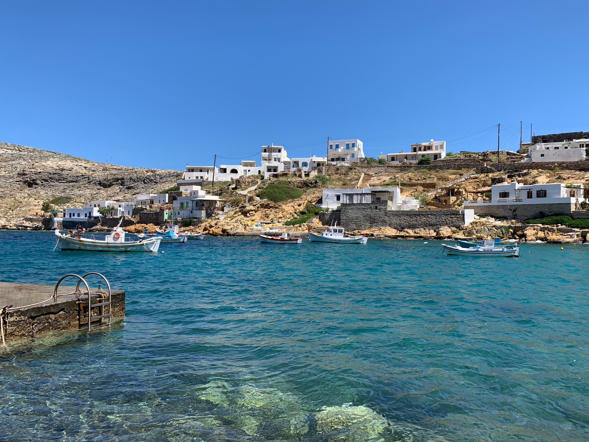 The day of 3 great meals in Sifnos, Greece