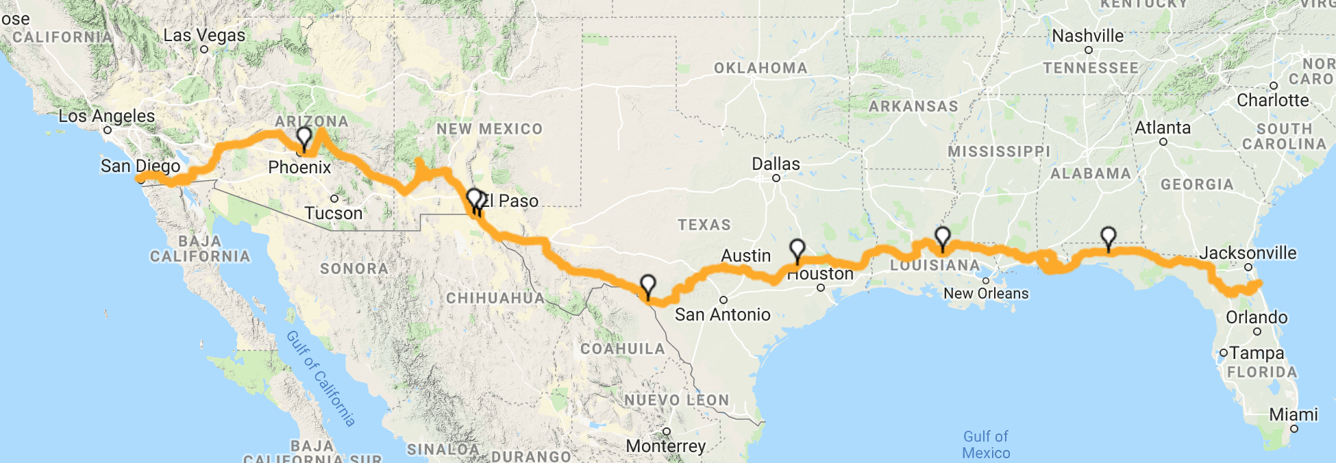 We're cycling 4,976km across the United States with 95% recycled gear!